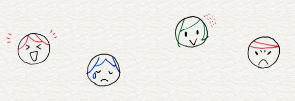 3-2. 顔の描きわけ