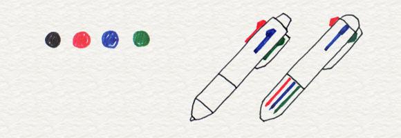 1-1. ボールペンを選ぼう