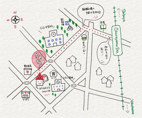 地図のイラスト応用編